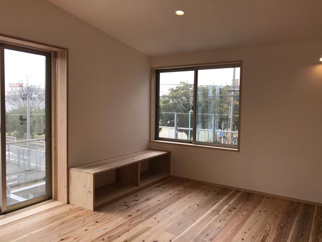 2階リビングから公園の緑を望む住まい 天白区S様邸☆