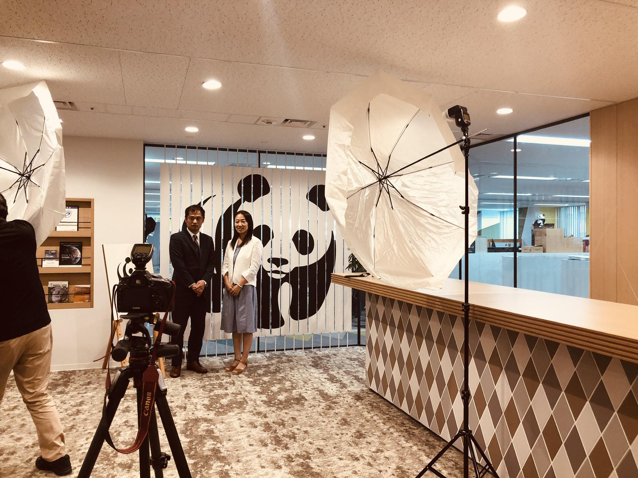 WWF JAPANとの対談☆