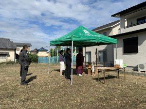 """""""土間と薪ストーブを愉しむ""""稲沢市S様邸地鎮祭"""