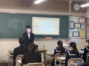 北方中学校で職業人と語る会☆