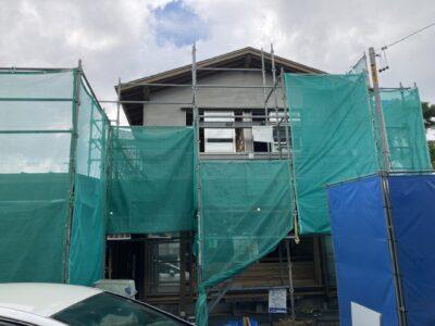 緩やかな屋根が包み込む、ちょうど良い二世帯の家 愛西市S様邸☆